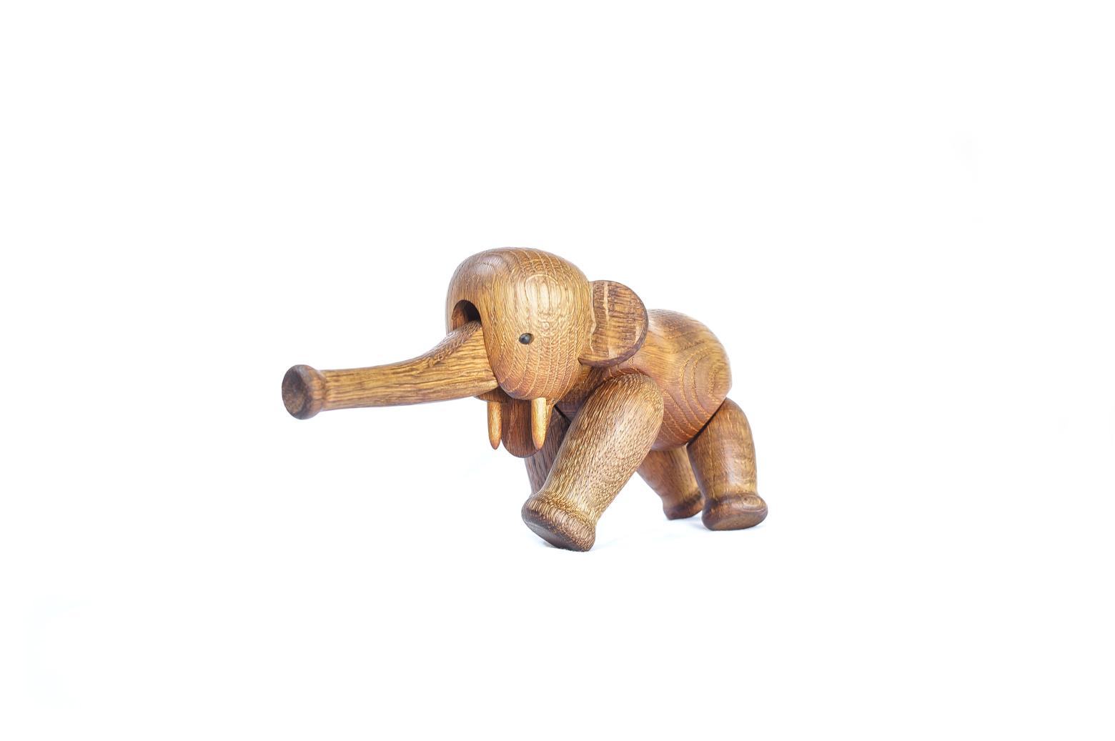 Kay Bojesen Elephant Vintage/カイ・ボイスン エレファント ゾウ ヴィンテージ オーク材 玩具 北欧雑貨