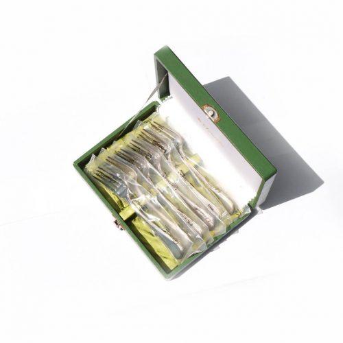 Christofle Pearls Salad Fork Set/クリストフル パール サラダフォーク 6本セット