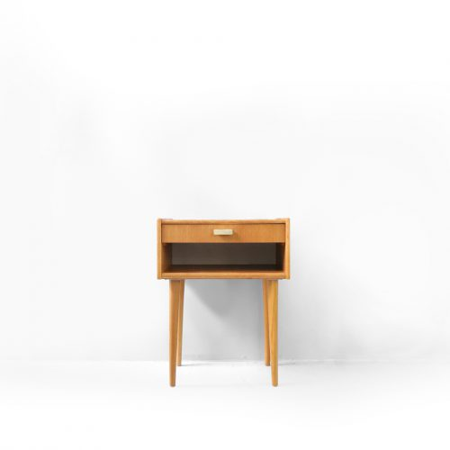 Danish Vintage Bed Side Table/デンマーク ヴィンテージ ベッドサイド テーブル オーク材 北欧家具