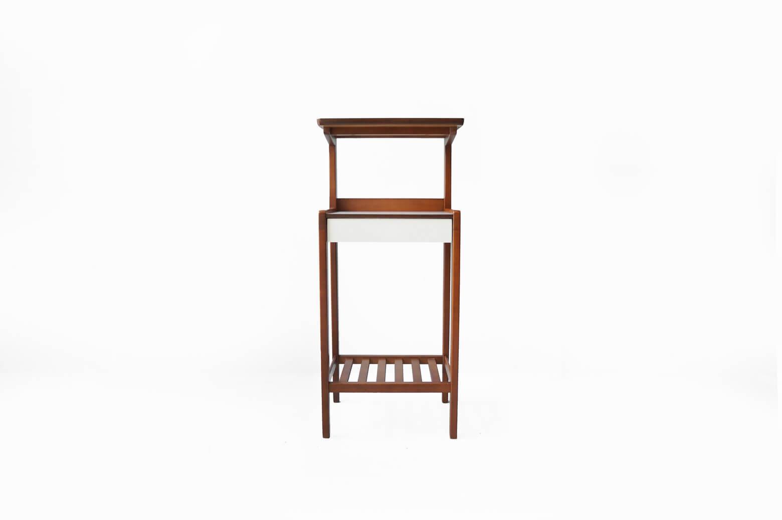 Karimoku rétro Side Shelf/オールドカリモク サイドシェルフ 電話台 レトロ ミッドセンチュリー