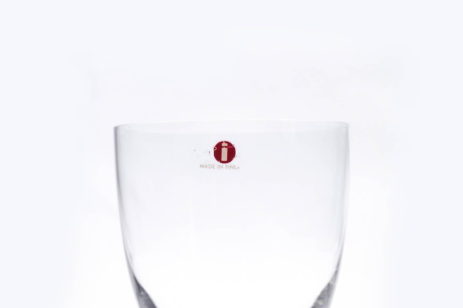 iittala Tapio Wirkkala Red Wine Glass /イッタラ タピオ・ヴィルカラ レッド ワイン グラス 250ml 北欧食器 フィンランド 5