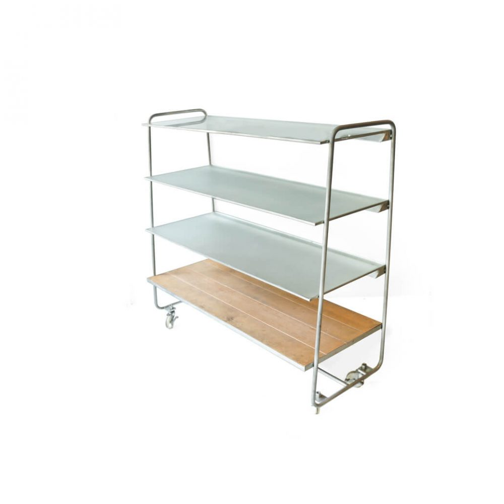 Iron Glass Open Shelf Rack/アイアン ガラス オープン シェルフ ディスプレイ ラック 棚 収納