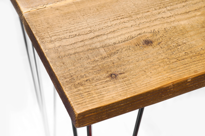 Old Pine Wood × Iron Leg Remake Table/パイン材 アイアンレッグ リメイクテーブル 古材 インダストリアル