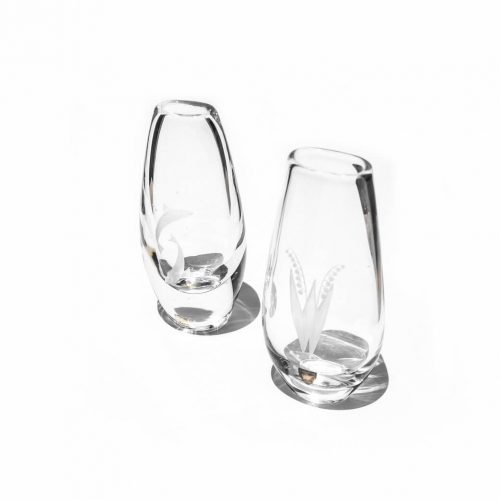Swedish Vintage Glass Flower Vase/スウェーデン ヴィンテージ ガラス フラワーベース 花瓶 北欧雑貨