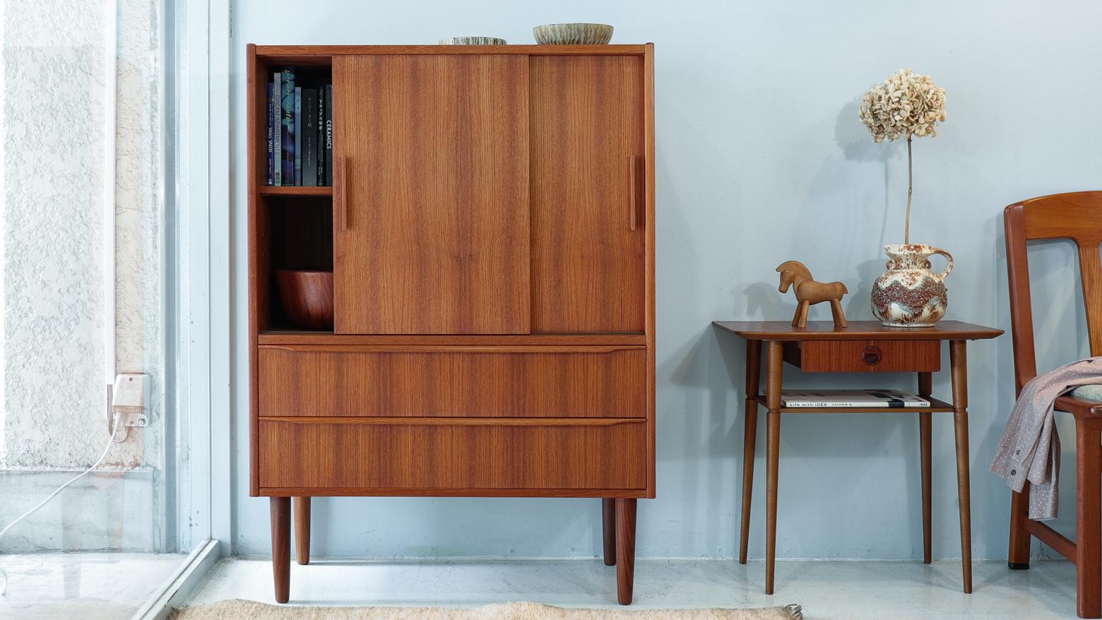 Danish Vintage Drawer Cabinet