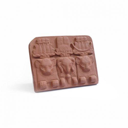 Meissen Egypt Civilization motif Ceramic board / マイセン エジプト文明 モチーフ 陶版