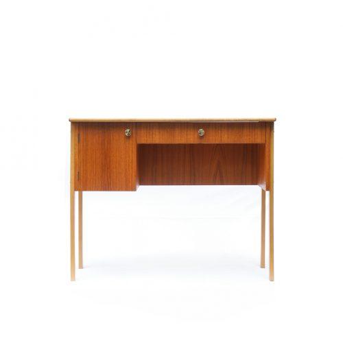 Danish midcentury small teak desk/ デンマーク ヴィンテージ デスク 北欧 サイドテーブル