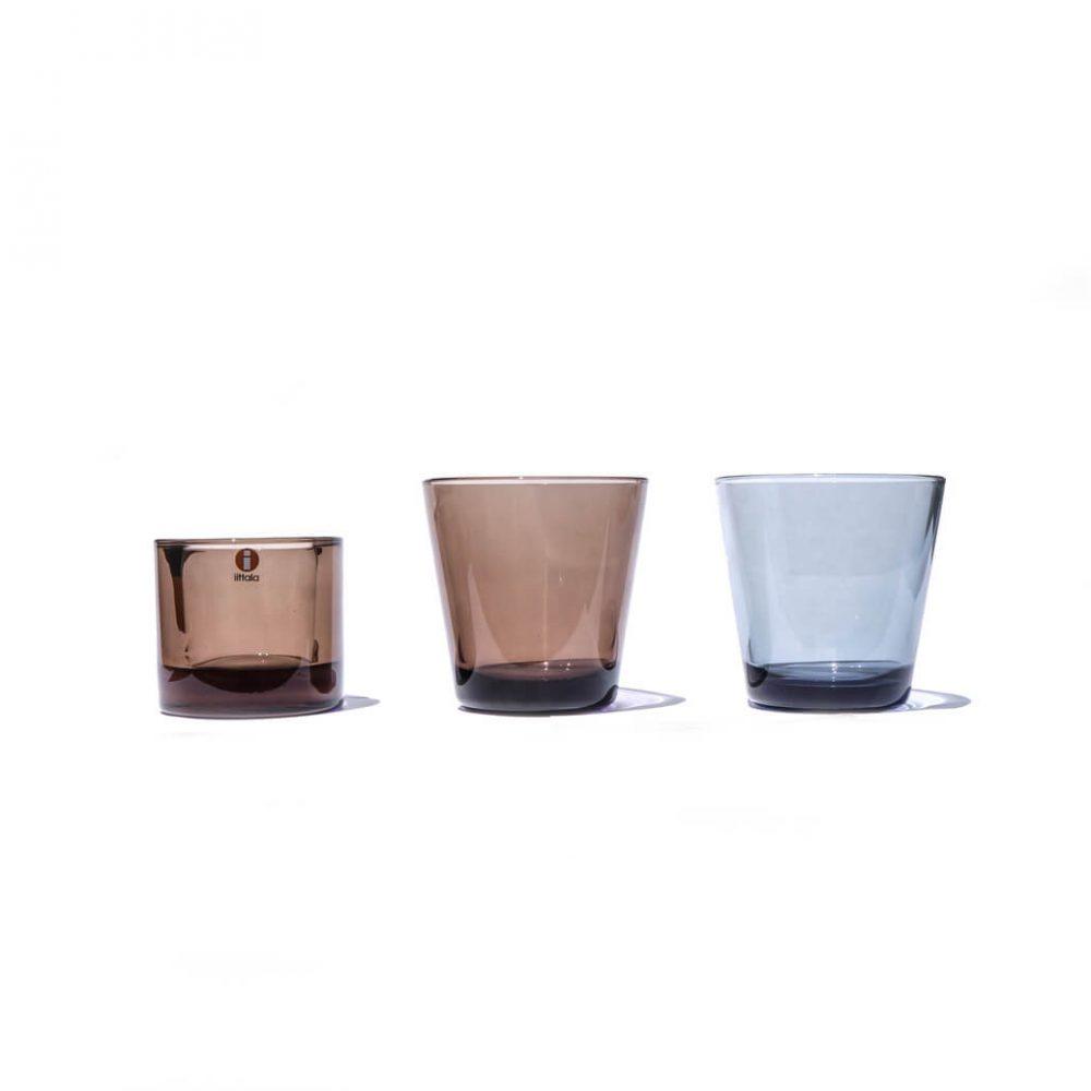Iittala Dark Tone Color Kartio and Kivi / イッタラ ダーク カラー カルティオ キビ 北欧食器
