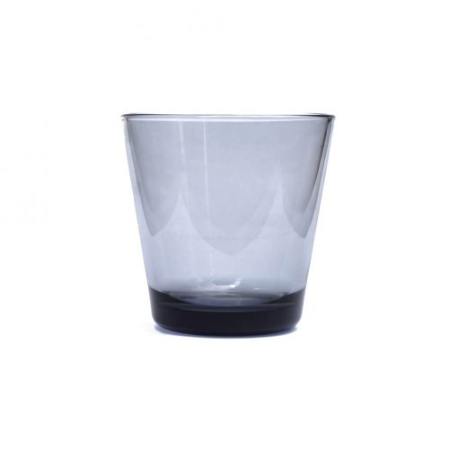 Iittala Kartio Gray Tumbler Glass / イッタラ カルティオ グレー タンブラー グラス 北欧食器