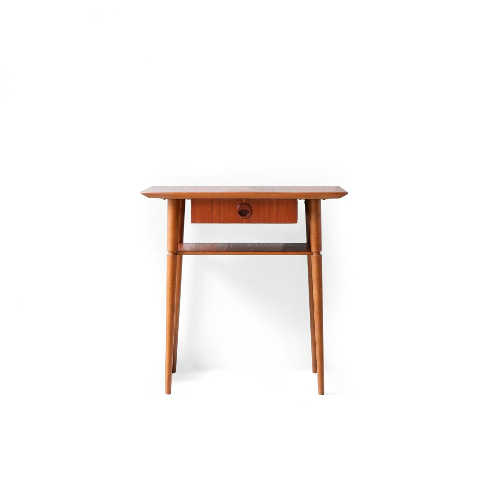Danish Vintage Side Table/デンマーク ヴィンテージ サイドテーブル チェスト 1段 チーク材 北欧家具