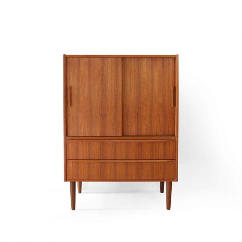 デンマーク ヴィンテージ チェスト キャビネット 収納 チーク材 北欧家具/Danish Vintage Drawer Cabinet