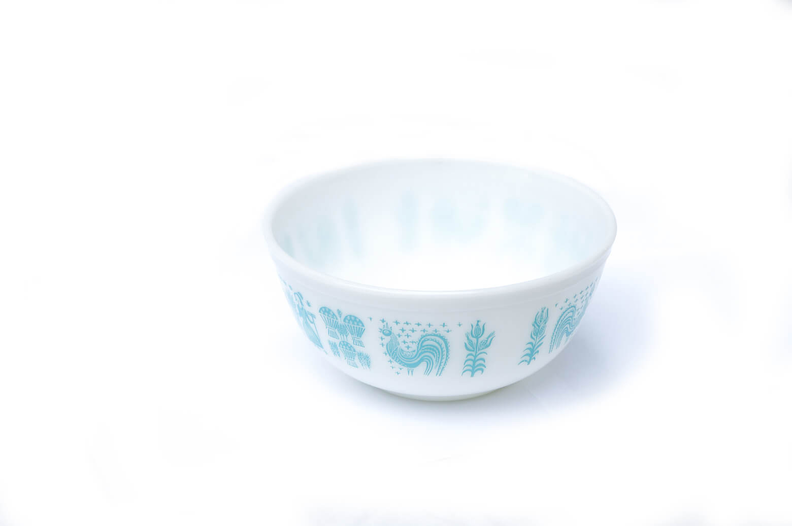 OLD PYREX BUTTER PRINT Mixing Bowl L size MADE IN USA / オールドパイレックス バター プリント ミキシング ボウル Lサイズ アメリカ製