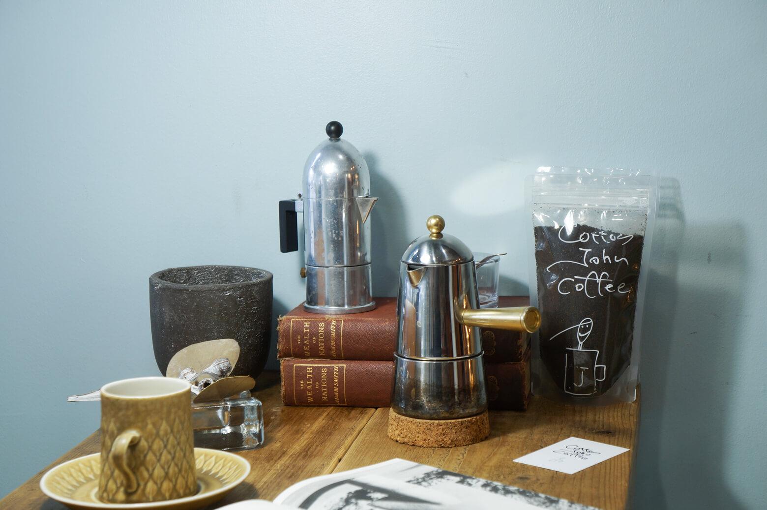 Italy Modern Design Macchinetta Espresso Maker/イタリア モダン デザイン マキネッタ エスプレッソメーカー キッチン雑貨