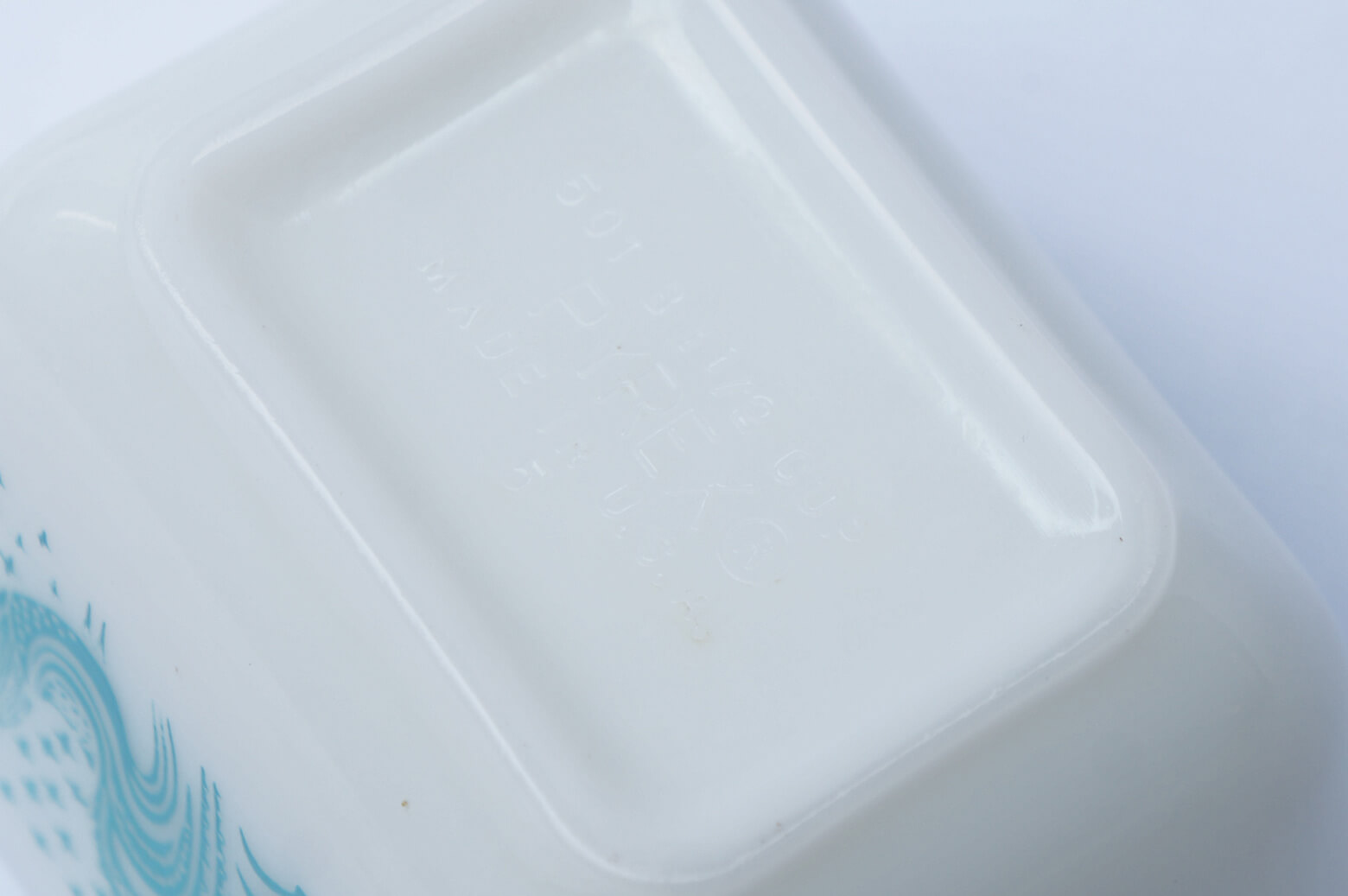OLD PYREX BUTTER PRINT Refrigerator S size MADE IN USA / オールドパイレックス バター プリント レフリジレーター Sサイズ アメリカ製