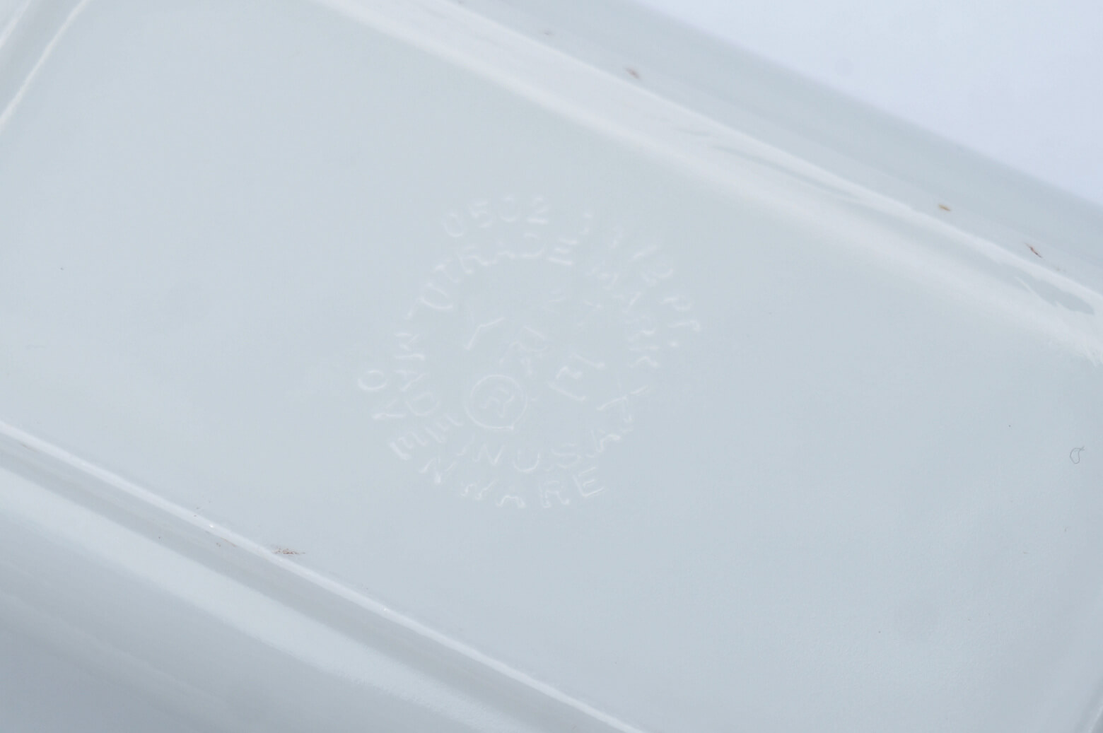 OLD PYREX BUTTER PRINT Refrigerator M size MADE IN USA / オールドパイレックス バター プリント レフリジレーター Mサイズ アメリカ製