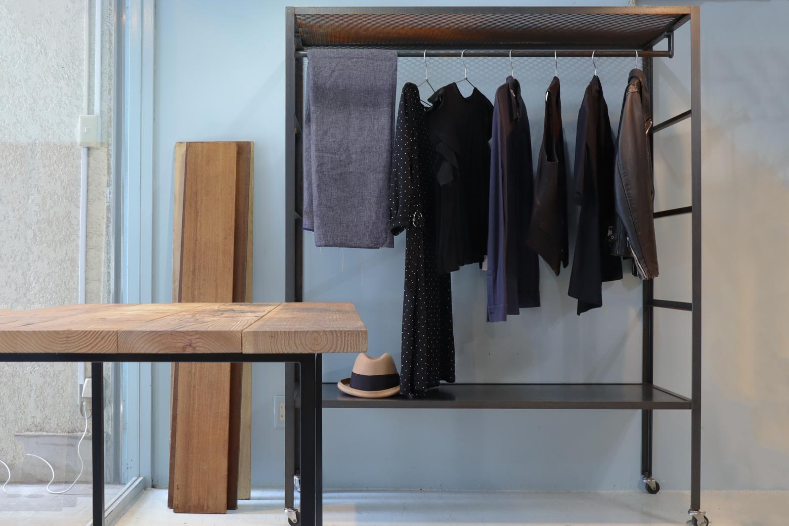 Industrial Design Iron Rack/インダストリアル デザイン アイアン ラック 棚 収納家具 什器