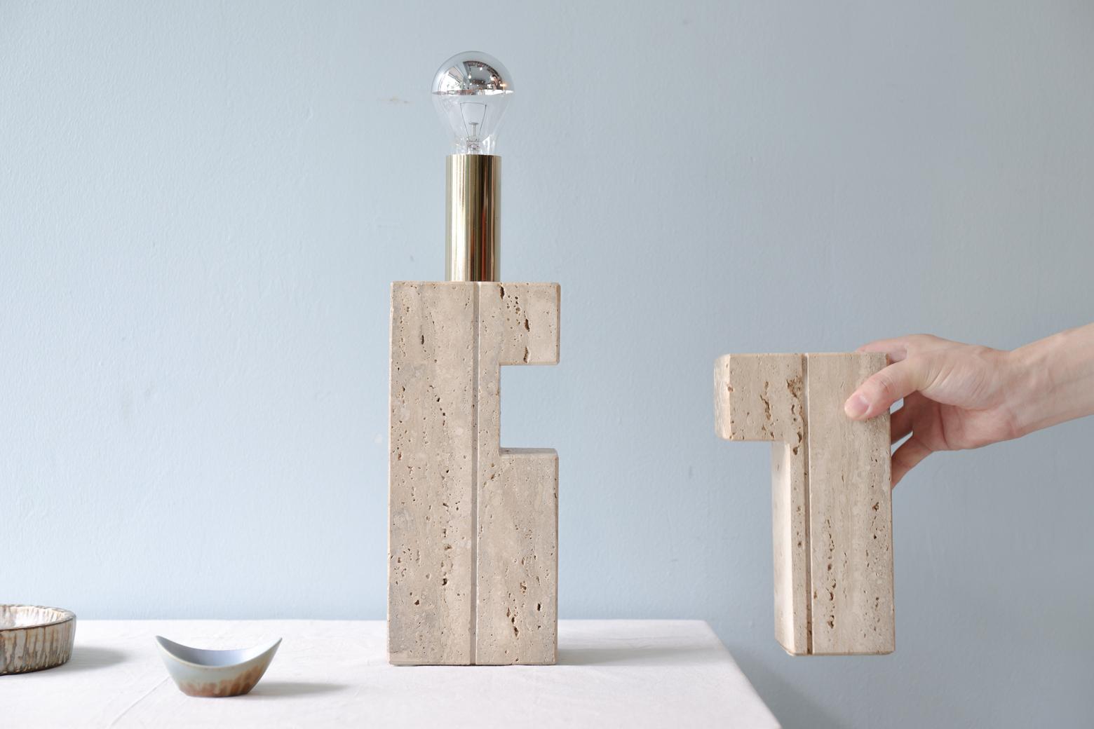 Fratelli Mannelli Italy Lamp Vase/ イタリア ヴィンテージ ランプ ベース 花瓶 モダン