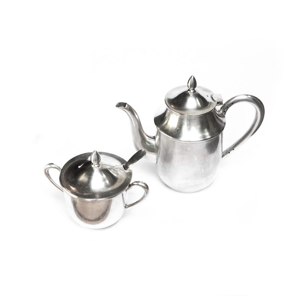 Martian Mark Coffee pot and Sugar pot / マーシャン マーク コーヒーポット シュガーポット 佐藤商事 レトロ