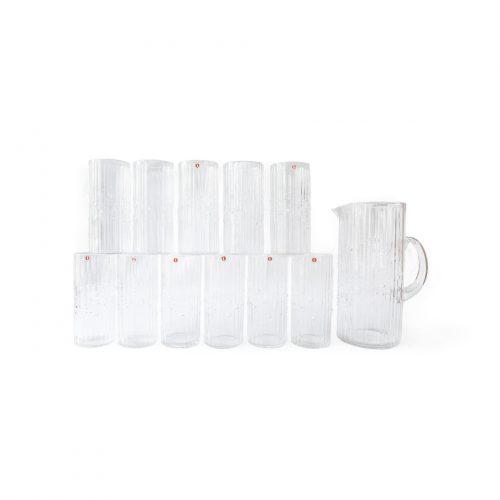 iittala mesi Glass Tumbler Tapio Wirkkala/イッタラ メシ タピオ ヴィルカラ グラス&ピッチャー