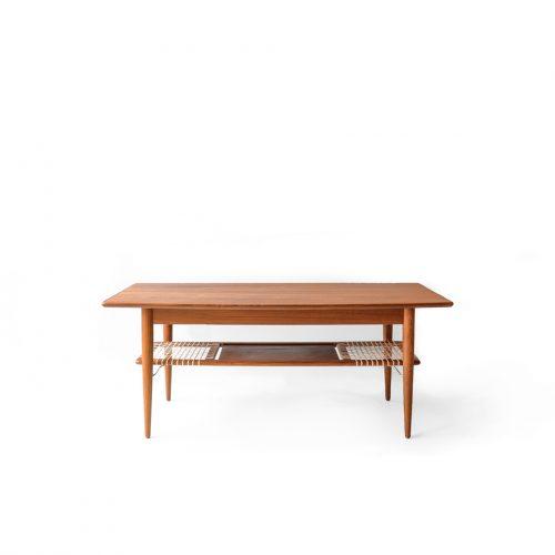 Danish Vintage Teak Coffee Table/デンマーク ヴィンテージ コーヒー センター テーブル チーク材 北欧家具