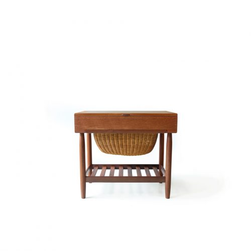 Danish Vintage Sewing Table Wagon Ejvind A. Johansson/デンマーク ヴィンテージ ソーイング テーブル ワゴン アイヴァン・A・ヨハンソン 北欧家具