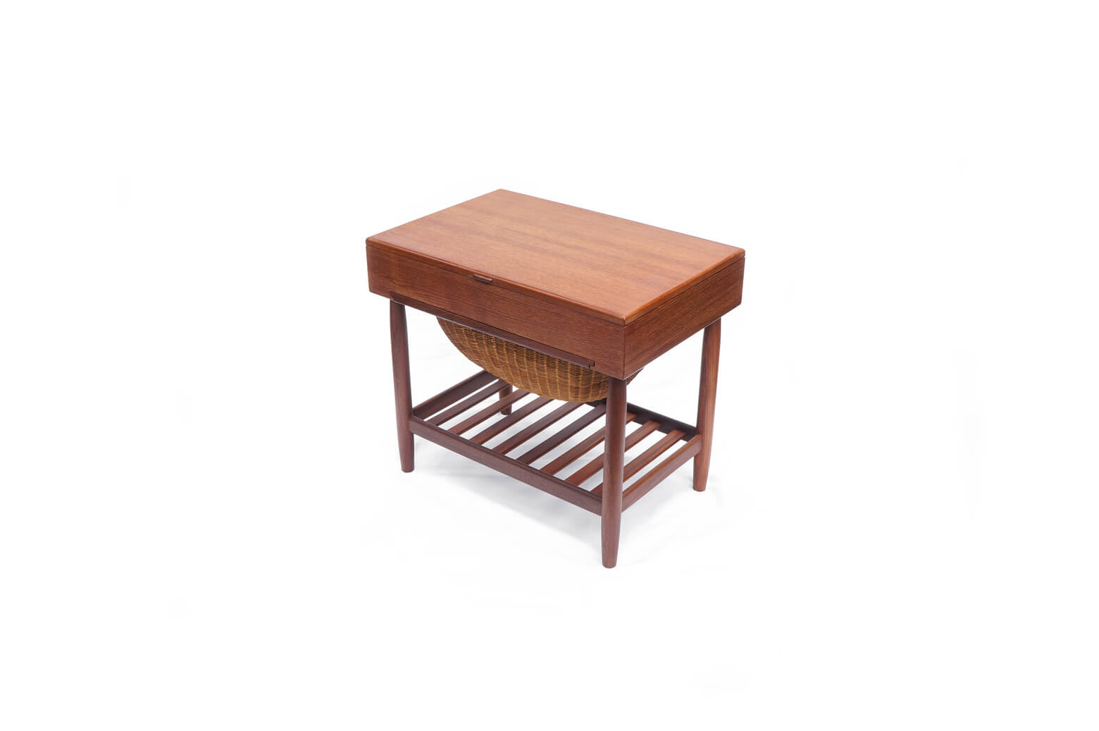 Danish Vintage Sewing Table Wagon Ejvind A. Johansson/デンマーク ヴィンテージ ソーイング テーブル ワゴン アイヴァン・A・ヨハンソン 北欧家具