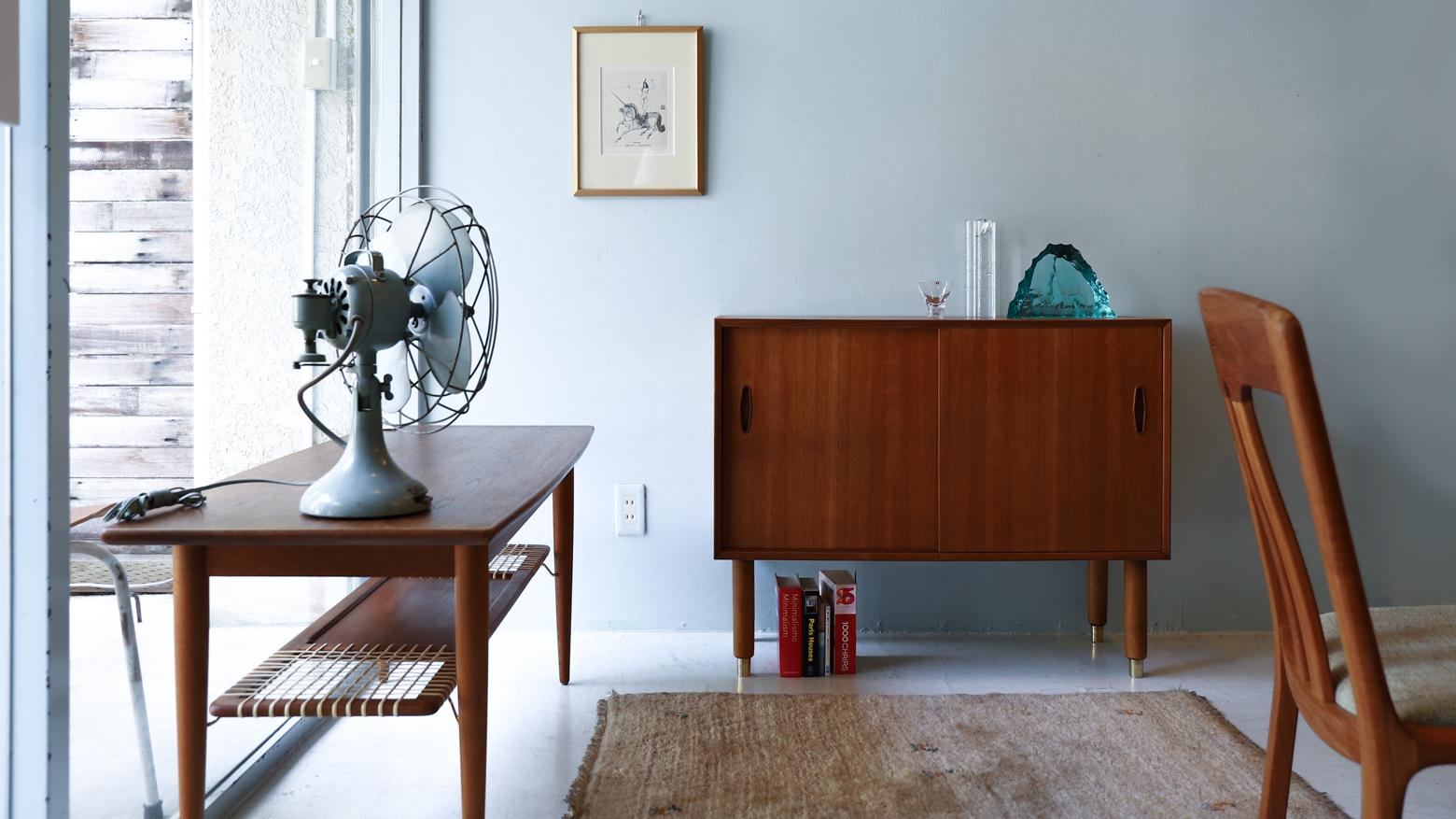 Swedish Vintage TROEDS Side Board&Coffee Table