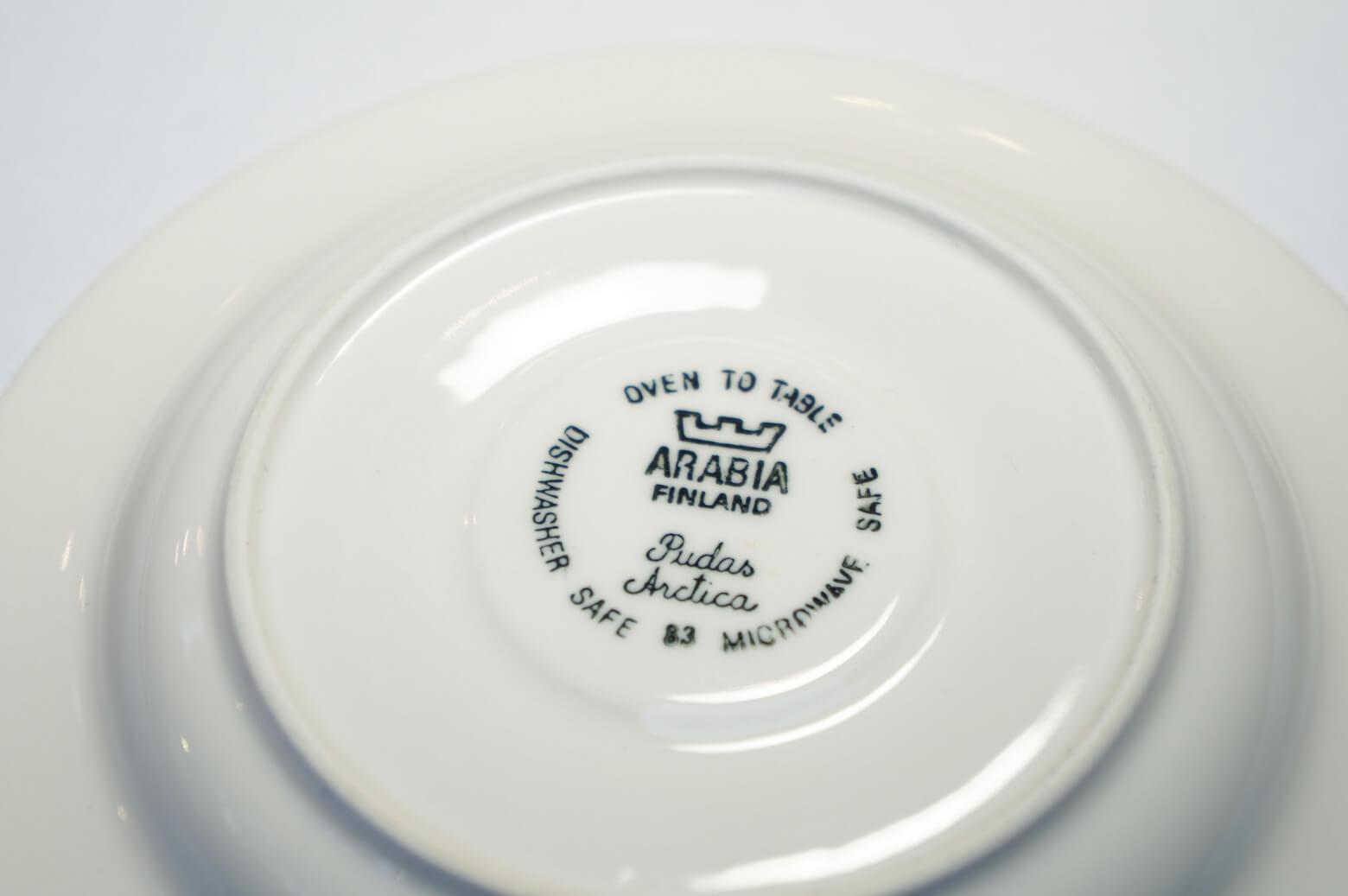 arabia pudas arctica inkeri leivo/アラビア プダス・アークティカ ヴィンテージ カップ&ソーサー 北欧 食器 1