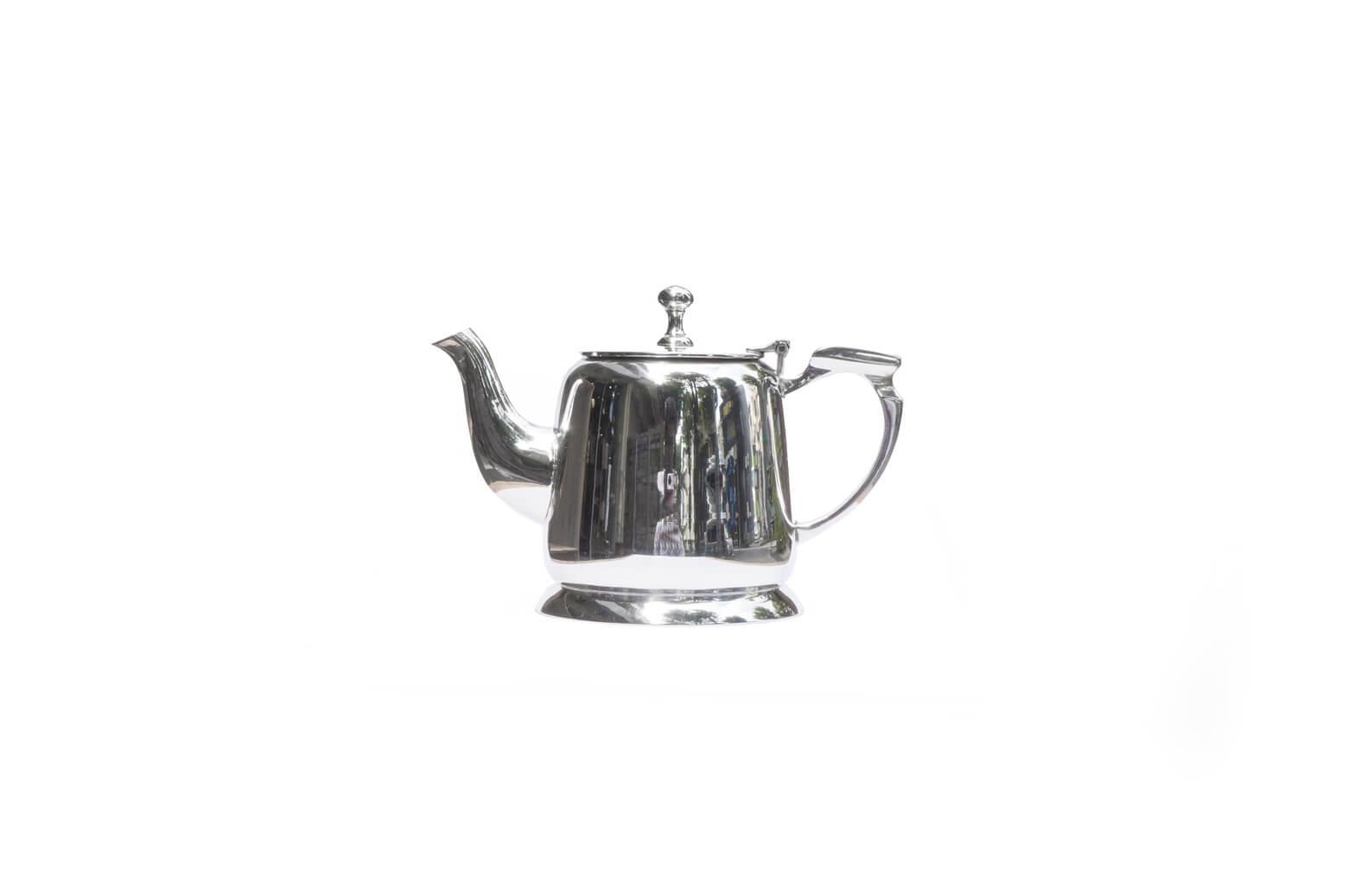 Europe Antique Silver plate Tea pot / アンティーク シルバー プレート ティーポット