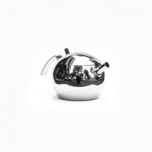 Italian modern STELLA Sferico stainless steel tea pot / ステラ スフェリコ ステンレス ティー ポット イタリア製