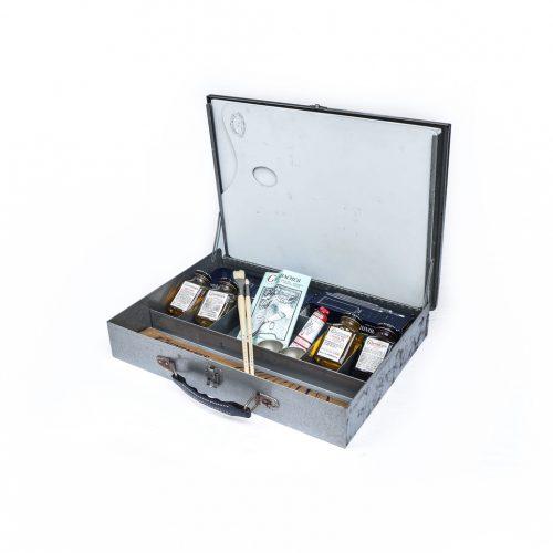 Vintage Sketch Box/ヴィンテージ スケッチ ボックス 画箱 油絵具 画材 インテリア