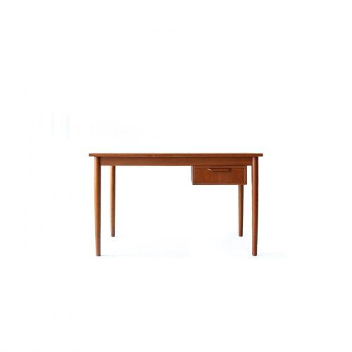 Scandinavian Modern Style Teak Wood Desk/デスク 片袖机 チーク材 北欧 テーブル