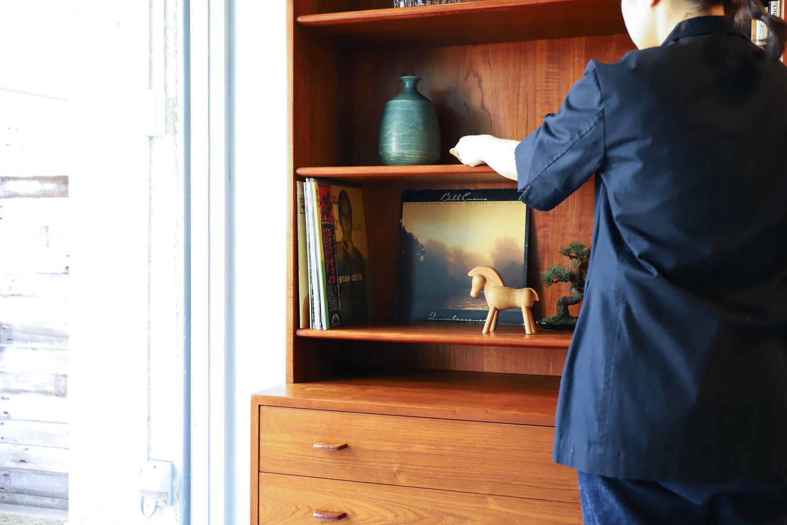 Hans J.Wegner RY MØBLER MODEL RY-5 & RY-17 Bookcase/ハンス・J・ウェグナー ブックケース シェルフ 本棚 デンマーク ヴィンテージ 北欧家具