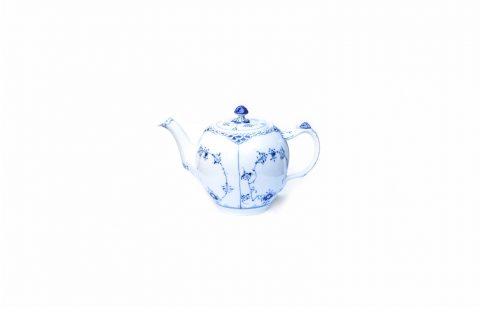 Royal Copenhagen Blue Fluted Half Lace Tea Pot/ロイヤルコペンハーゲン ブルーフルーテッド ハーフレース ティーポット 1000ml 北欧食器