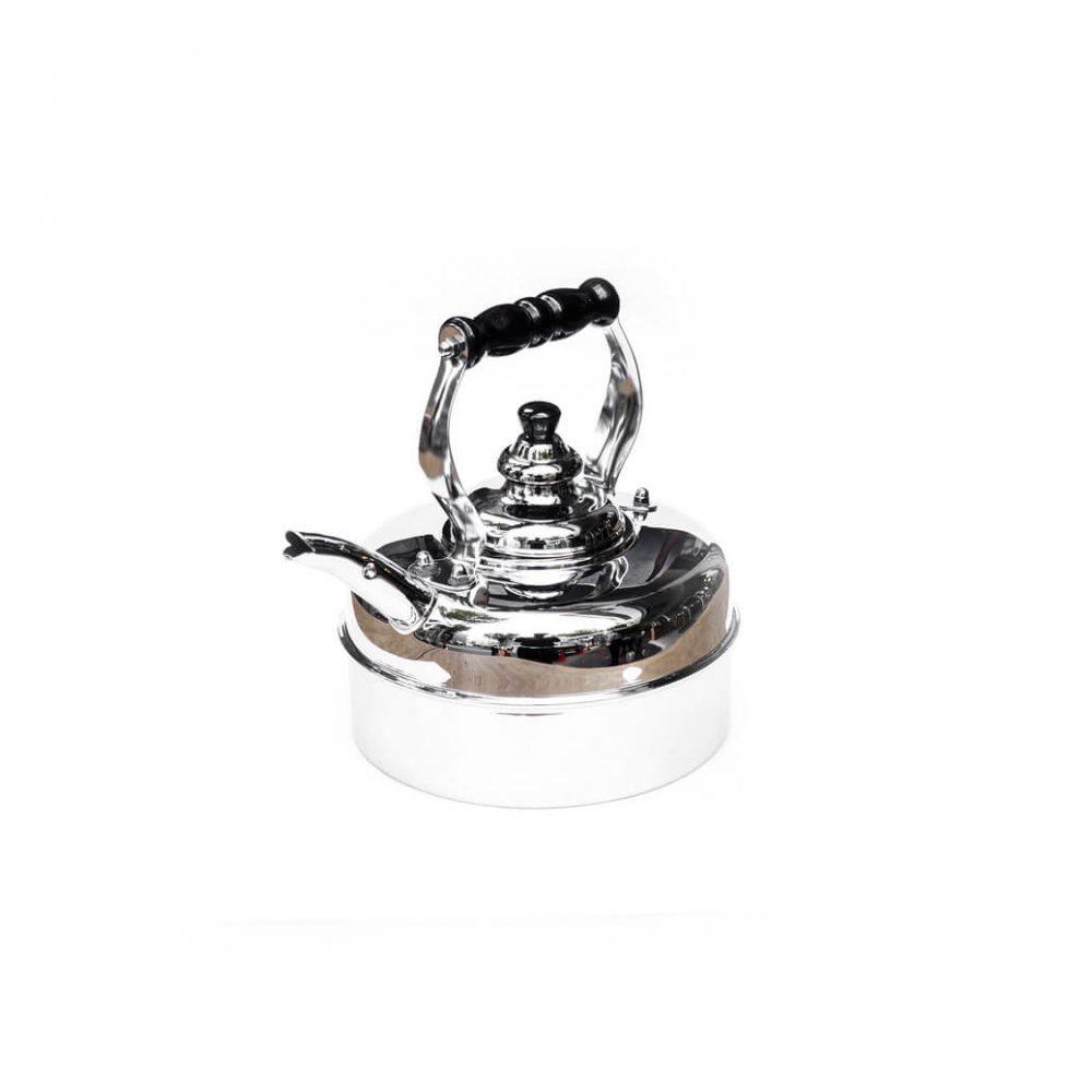 SIMPLEX Kettle Kensington No.3/シンプレックス ケンジントン 銅製 クローム仕上げ ケトル 1.7L