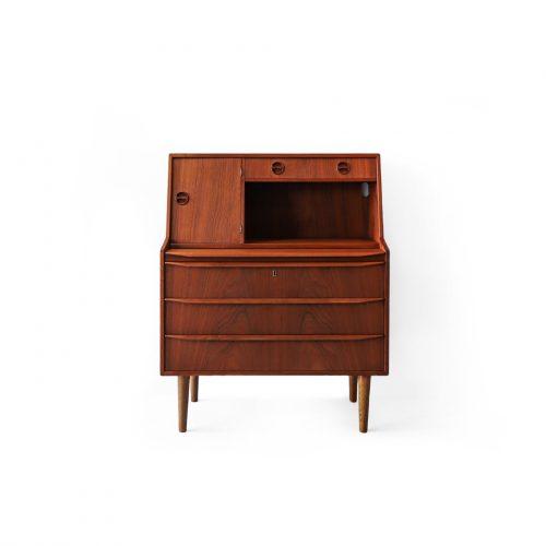 Danish Vintage Writing Bureau Teakwood/デンマーク ヴィンテージ ライティング ビューロー チーク材 北欧家具