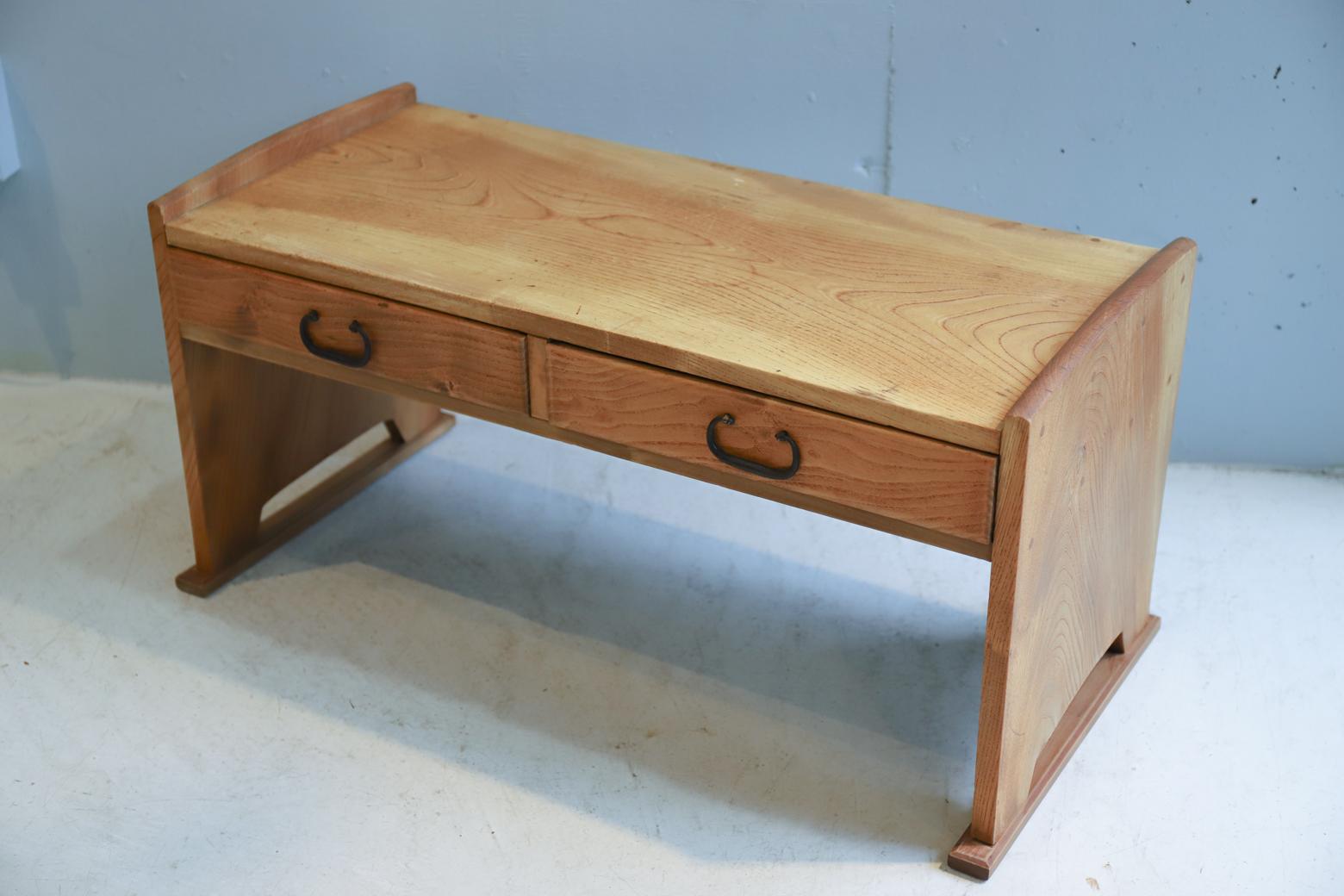 "Japanese Style Writing Desk ""FUZUKUE""/文机 ローテーブル レトロ ジャパニーズモダン 古道具"