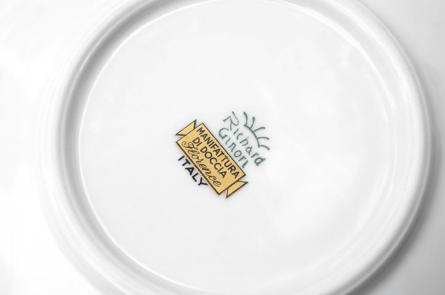 Richard Ginori Impero Giulietta Square Demitas Cup and Saucer/リチャード ジノリ インペロ ジュリエッタ デミタス カップ イタリア 食器 1
