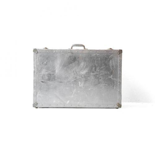 Vintage Aluminum trunk/ヴィンテージ アルミ トランク 収納 ケース