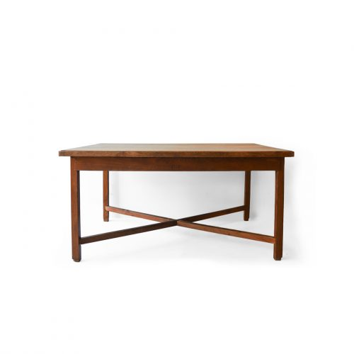 Europe Antique Solid Wood Dining Table/アンティーク ダイニングテーブル ワークデスク 無垢材 フレンチ シャビー