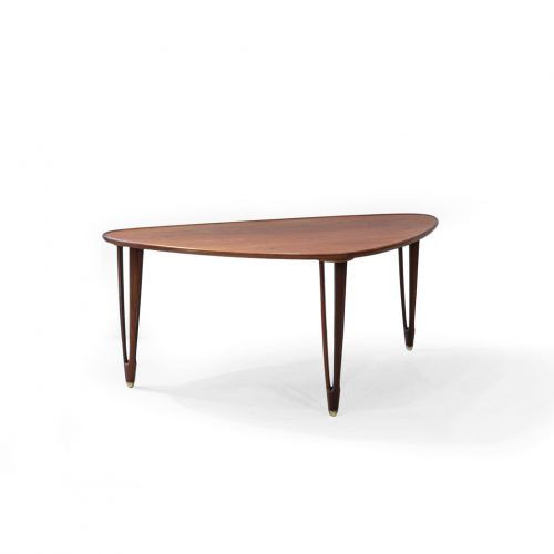 B.C.Møbler Tripod Coffee Table/デンマーク ヴィンテージ コーヒーテーブル 北欧家具 チーク材