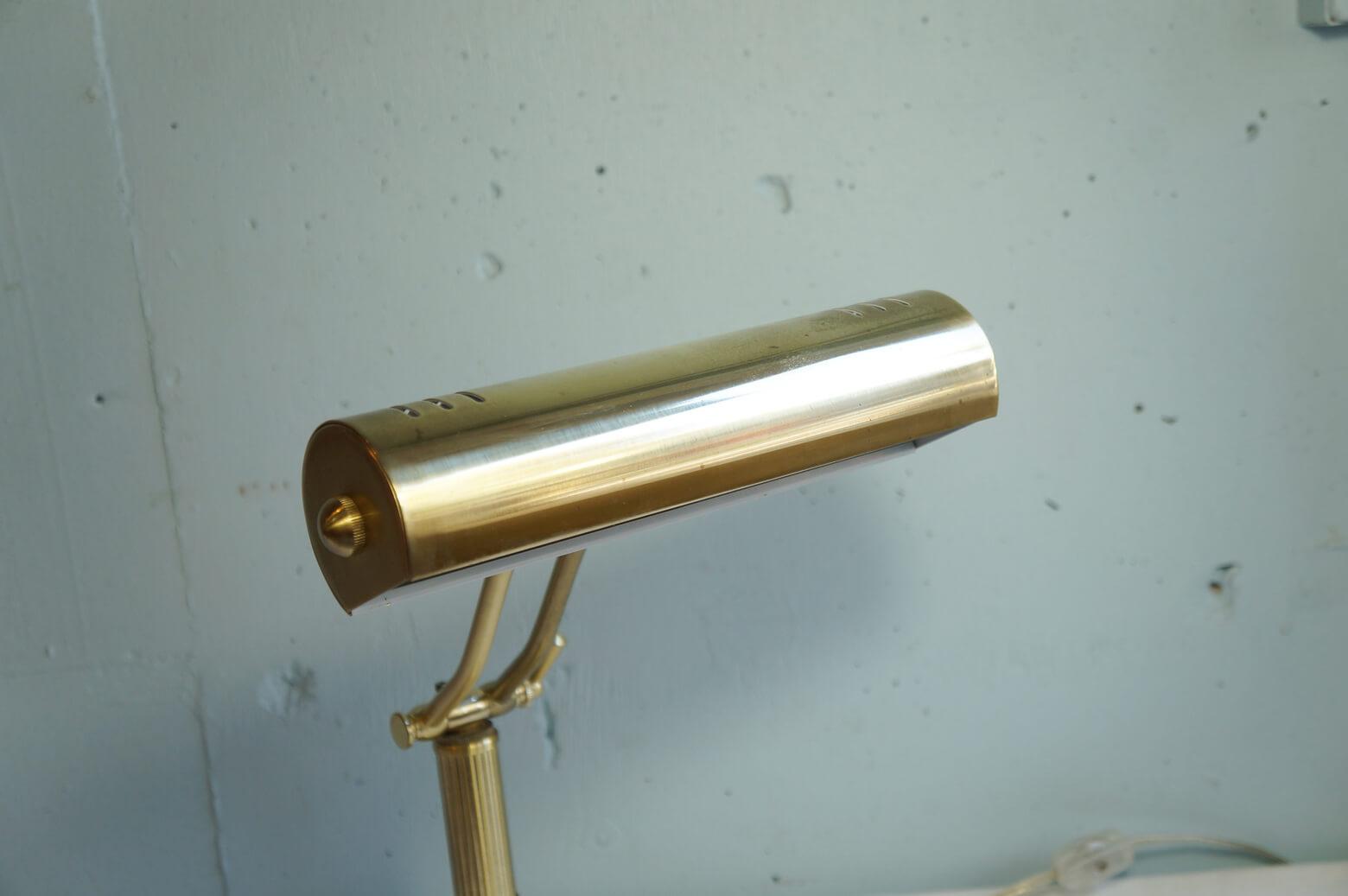 Antique Style Piano Light Desk Lamp/真鍮 ピアノライト デスクライト 照明 アンティークスタイル インテリア