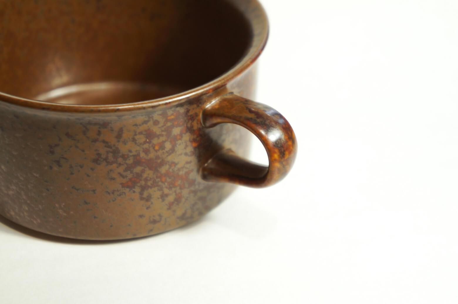 ARABIA Tea Cup and Saucer Ruska designed by Ulla Procope/アラビア ルスカ ティーカップ アンド ソーサー ウラ・プロコッペ 北欧ヴィンテージ食器 2