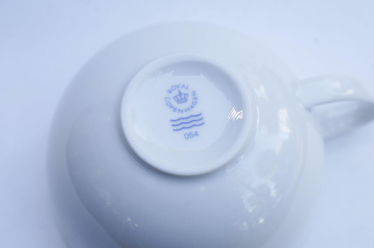 Royal Copenhagen WHITE POT Series/ロイヤル コペンハーゲン ホワイト ポット シリーズ カップ&ソーサー 北欧 食器 8