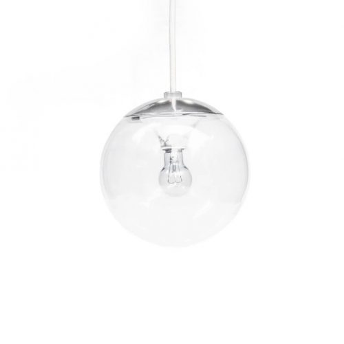 National Clear Glass Ball Pendant Light/ナショナル ガラスボール ペンダントライト レトロ 照明