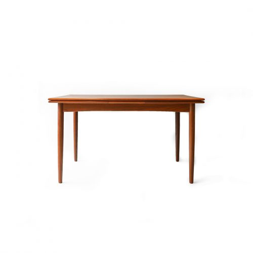 Danish Vintage N&R Møbler Extension Dining Table/デンマーク ヴィンテージ エクステンション ダイニングテーブル