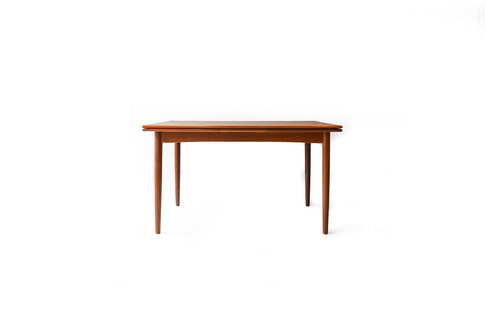 Danish Vintage N&R Møbler Extension Dining Table/デンマーク ヴィンテージ エクステンション ダイニングテーブル