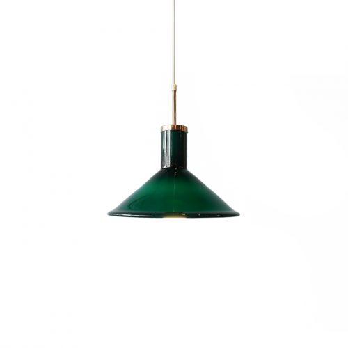 Holmegaard Pendant Light P&T Michael Bang/ホルムガード ペンダントライト 照明 ガラス デンマーク ヴィンテージ 北欧インテリア