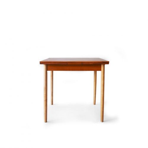 Danish Vintage Two Tone Color Extension Dining Table/デンマーク ヴィンテージ エクステンション ダイニング テーブル 北欧家具