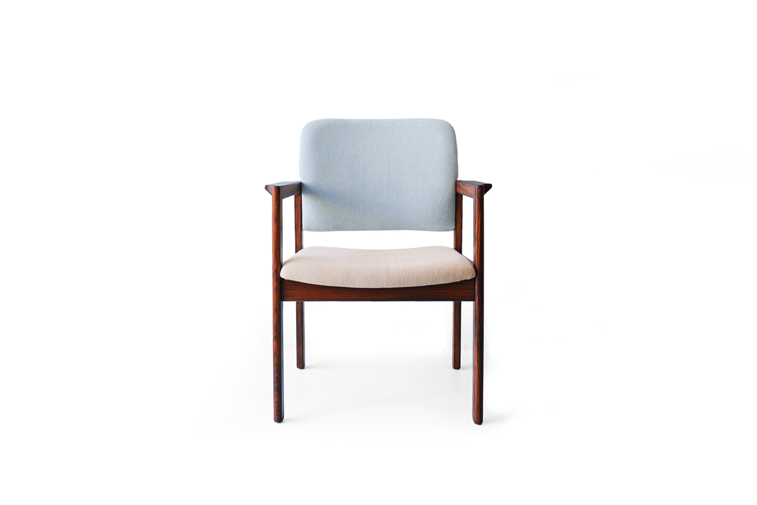 Bjerringbro Kontor Møbler Rosewood Arm Chair/デンマーク ヴィンテージ ローズウッド アームチェア 椅子 北欧家具